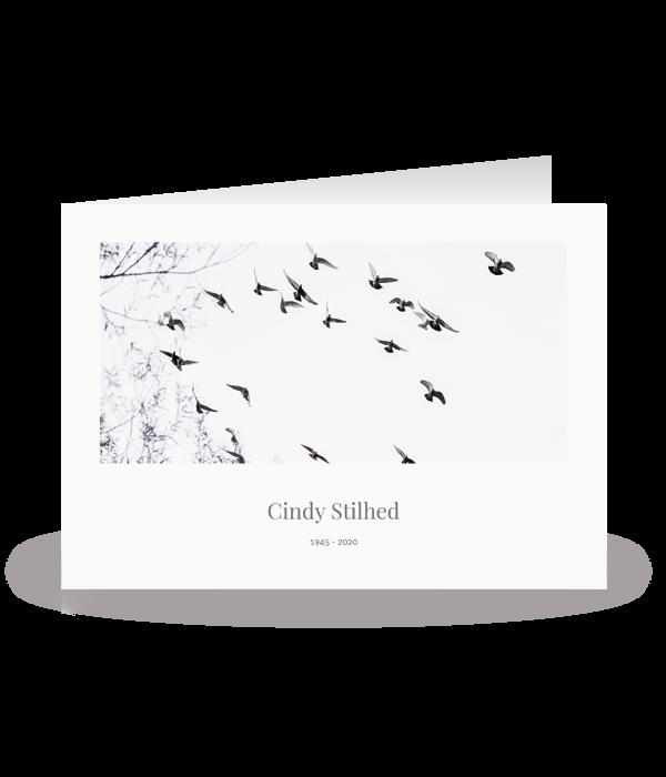 Kaart met vogels 1