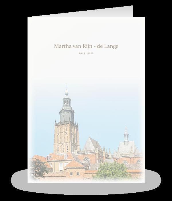 Walburgiskerk in Zutphen 1