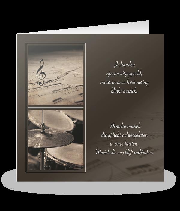 Muziekserie met drumstel 1