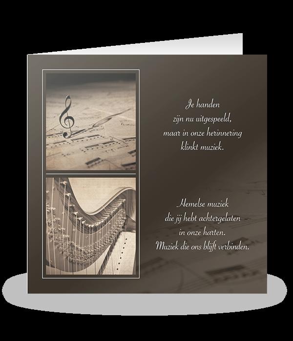 Muziekserie met harp 1