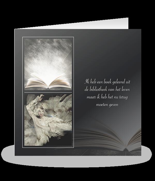 Fantasie vrouw en boek 1