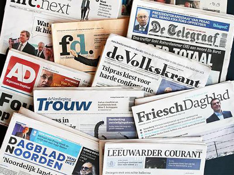 Eén adres voor alle kranten