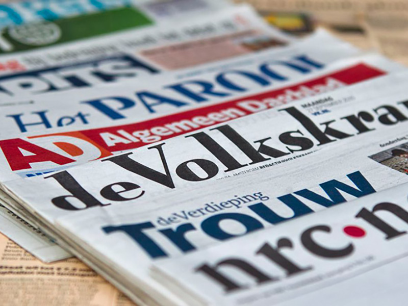 Ruim 6,8 miljoen mensen lezen een krant