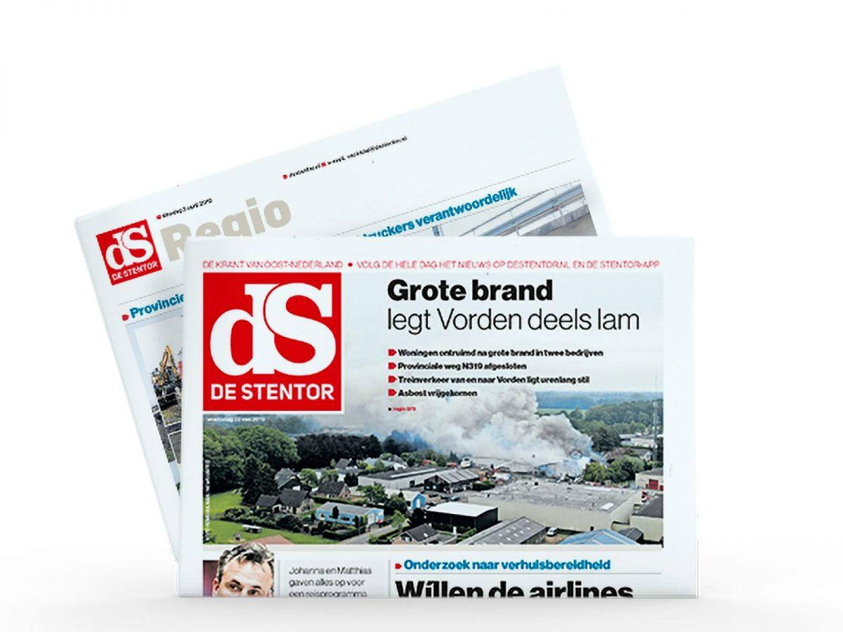 De Stentor weer naar drie edities